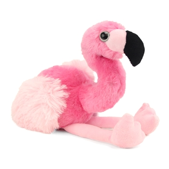 Hug Ems Small Flamingo Stuffed Animal by Wild Republic