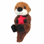Hug Ems Small Sea Otter Stuffed Animal by Wild Republic