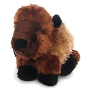 Hug Ems Small Buffalo Stuffed Animal by Wild Republic