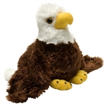 Hug Ems Small Bald Eagle Stuffed Animal by Wild Republic