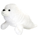Jumbo Plush Harp Seal Pup 30 Inch Cuddlekin by Wild Republic