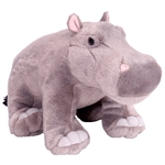Cuddlekins Hippopotamus Stuffed Animal by Wild Republic