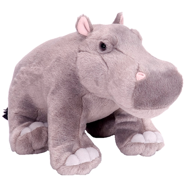 Cuddlekins Hippopotamus Stuffed Animal By Wild Republic At Stuffed