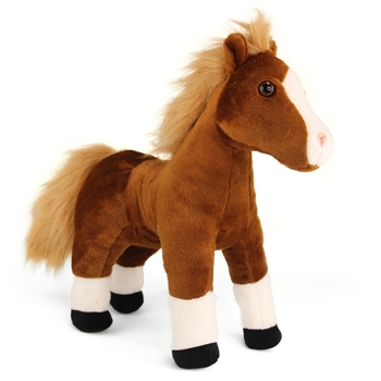 Cuddlekins Brown Horse Stuffed Animal by Wild Republic