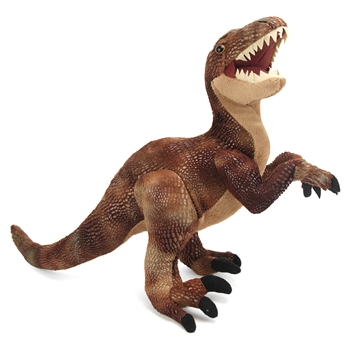 Dinosauria Realistic Velociraptor Stuffed Animal by Wild Republic