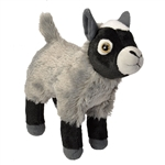 Stuffed Pygmy Goat Mini Cuddlekin by Wild Republic