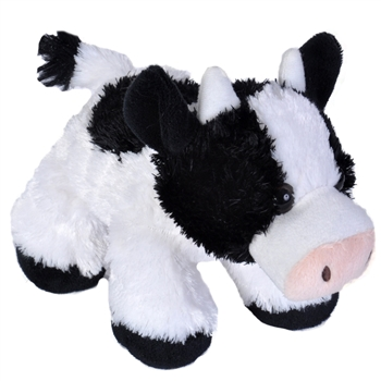 Hug Ems Small Cow Stuffed Animal by Wild Republic