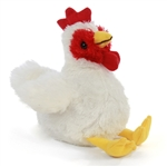 Hug Ems Small Chicken Stuffed Animal by Wild Republic
