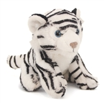 Small Plush White Tiger Lil Cuddlekins by Wild Republic