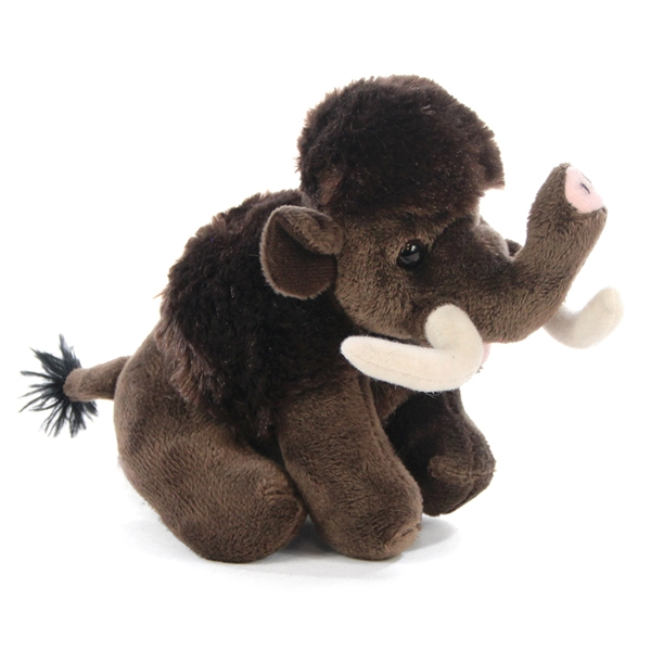Small Plush Woolly Mammoth Lil Cuddlekins By Wild Republic