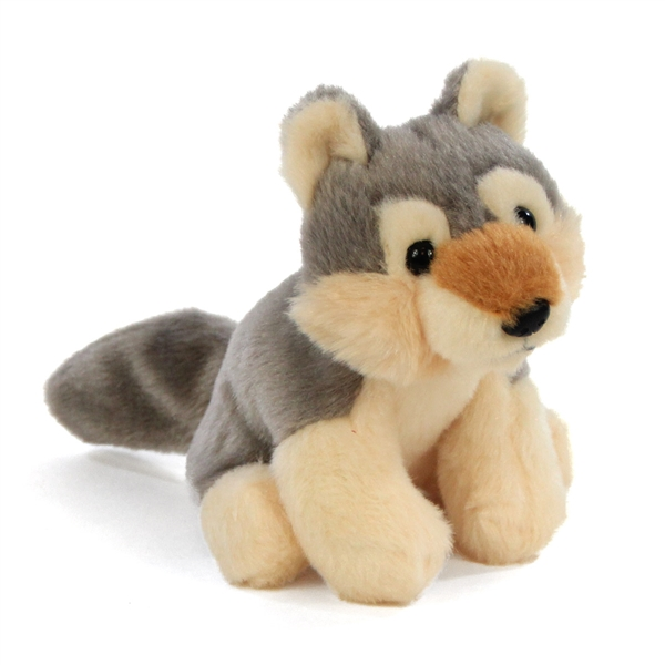 5ecf1b5d9c9 Small Plush Wolf Lil Cuddlekins by Wild Republic