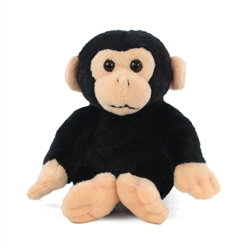 Small Plush Chimpanzee Lil Cuddlekins by Wild Republic