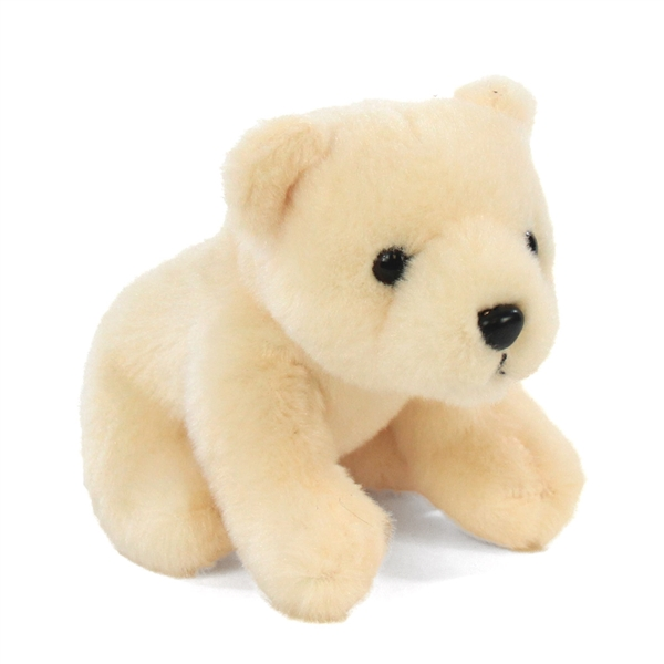 Small Plush Polar Bear Lil Cuddlekins By Wild Republic Stuffed