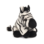 Small Plush Zebra Lil Cuddlekins by Wild Republic