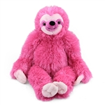 Cuddlekins Pink Sloth Stuffed Animal by Wild Republic