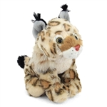 Stuffed Bobcat Cub Mini Cuddlekin by Wild Republic