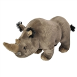 Cuddlekins Rhinoceros Stuffed Animal by Wild Republic