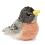 Plush Robin Audubon Bird with Sound by Wild Republic