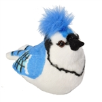 Plush Blue Jay Audubon Bird with Sound by Wild Republic