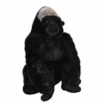 Jumbo Sitting Stuffed Gorilla Little Biggies by Wild Republic