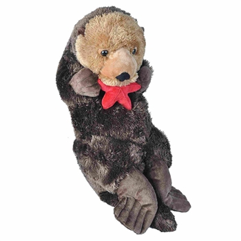 Cuddlekins Jumbo Sea Otter Stuffed Animal by Wild Republic