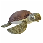 Cuddlekins Jumbo Sea Turtle Stuffed Animal by Wild Republic