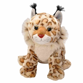 Cuddlekins Bobcat Stuffed Animal by Wild Republic