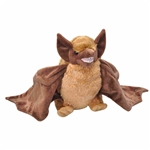 Cuddlekins Brown Bat Stuffed Animal by Wild Republic