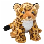 Cuddlekins Jaguar Cub Stuffed Animal by Wild Republic