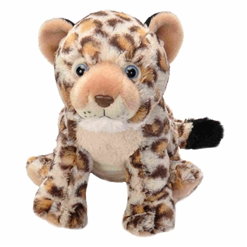 Cuddlekins Leopard Cub Stuffed Animal by Wild Republic