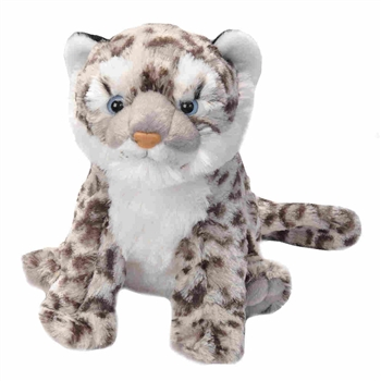 Cuddlekins Snow Leopard Cub Stuffed Animal by Wild Republic