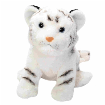 Cuddlekins White Tiger Cub Stuffed Animal by Wild Republic