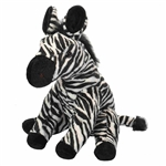 Cuddlekins Zebra Stuffed Animal by Wild Republic