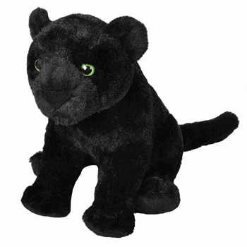 Cuddlekins Black Jaguar Stuffed Animal by Wild Republic