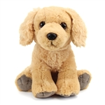 Sitting Stuffed Golden Retriever Pet Shop Plush by Wild Republic