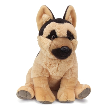Sitting Stuffed German Shepherd Pet Shop Plush by Wild Republic