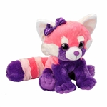 Pink Stuffed Lesser Panda Sweet and Sassy Plush by Wild Republic