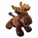 Hug Ems Small Moose Stuffed Animal by Wild Republic