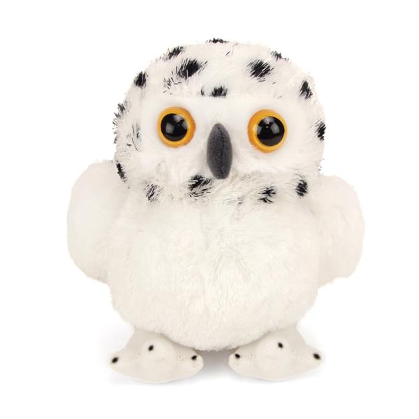 Small Snowy Owl Stuffed Animal Hug Ems By Wild Republic