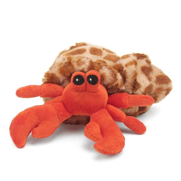 small hermit crab stuffed animal hug ems by wild republic