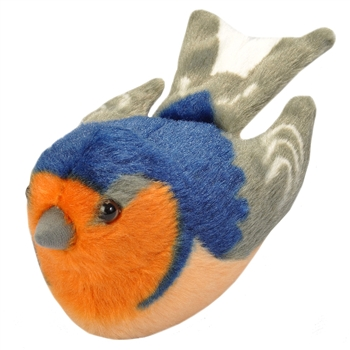 Plush Barn Swallow Audubon Bird with Sound by Wild Republic