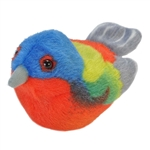 Plush Painted Bunting Audubon Bird with Sound by Wild Republic
