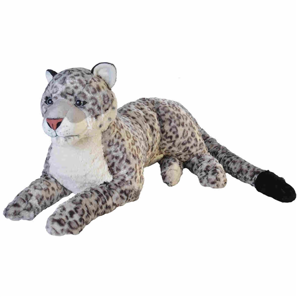 Jumbo Snow Leopard Stuffed Animal Cuddlekins By Wild Republic