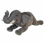 Cuddlekins Jumbo African Elephant Stuffed Animal by Wild Republic