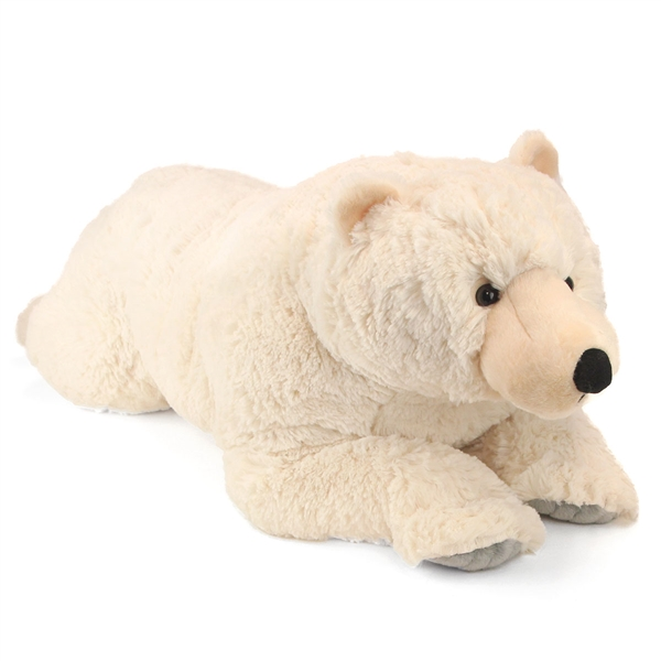 Jumbo Polar Bear Stuffed Animal Cuddlekins By Wild Republic