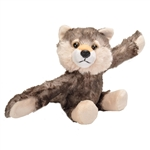 Huggers Wolf Stuffed Animal Slap Bracelet by Wild Republic