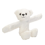 Huggers Polar Bear Stuffed Animal Slap Bracelet by Wild Republic
