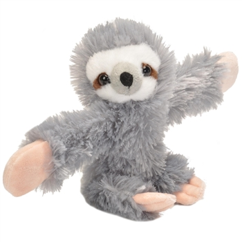 Huggers Sloth Stuffed Animal Slap Bracelet by Wild Republic
