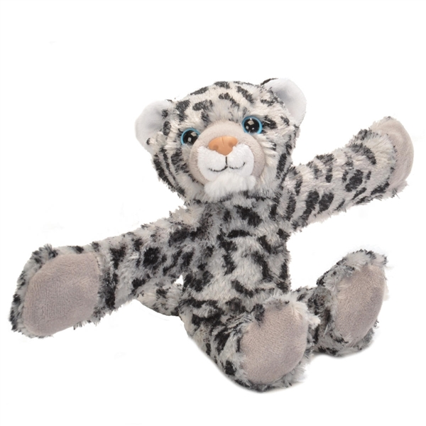 Snow Leopard Stuffed Animal Slap Bracelet Wild Republic Huggers