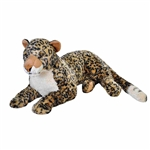 Cuddlekins Jumbo African Leopard Stuffed Animal by Wild Republic